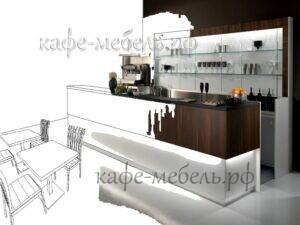 создание проекта мебели для кафе