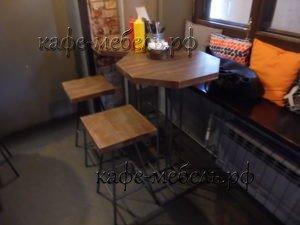 столы и стулья для баров