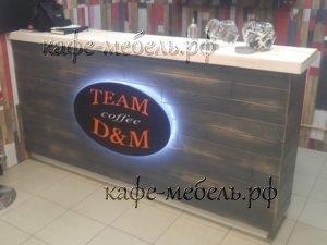 мебельная стойка для кофейни