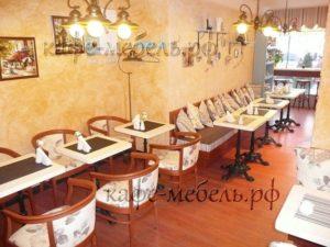 гостевая зона в кафе кондитерской