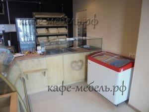 расстановка мебели в кафе пекарне