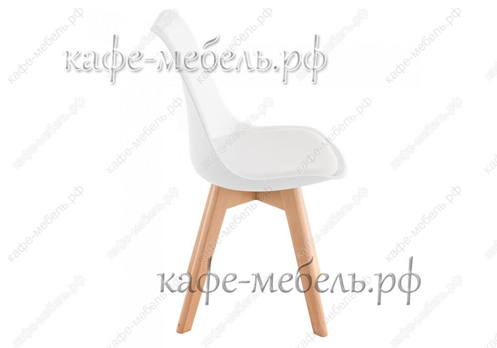 стул бон белый+бук