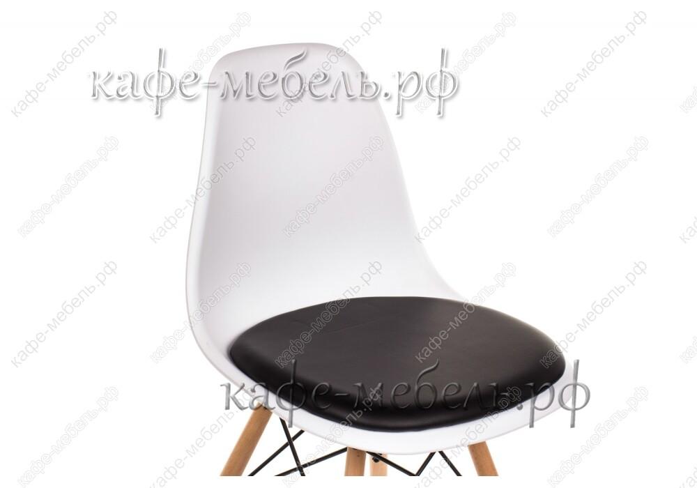 стул эймс-011 чёрно-белый +бук