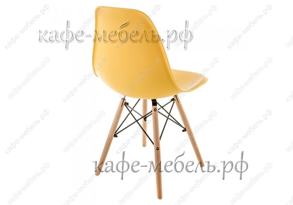 стул эймс 015 жёлтый+бук