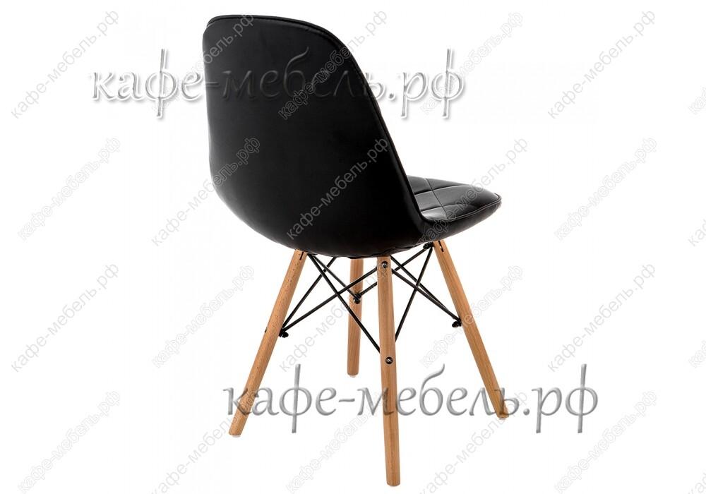 стул эймс-147 чёрный+бук