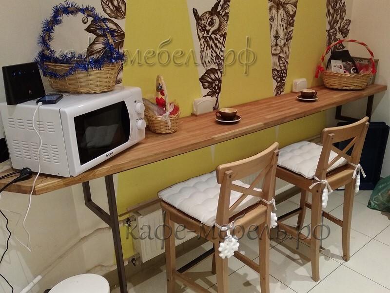 фото барный столик для кофейной стойки