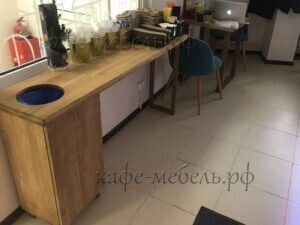 мебель для кофе с собой из дерева стол органайзер