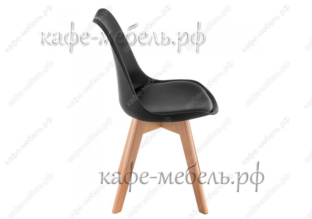 стул бон чёрный+бук