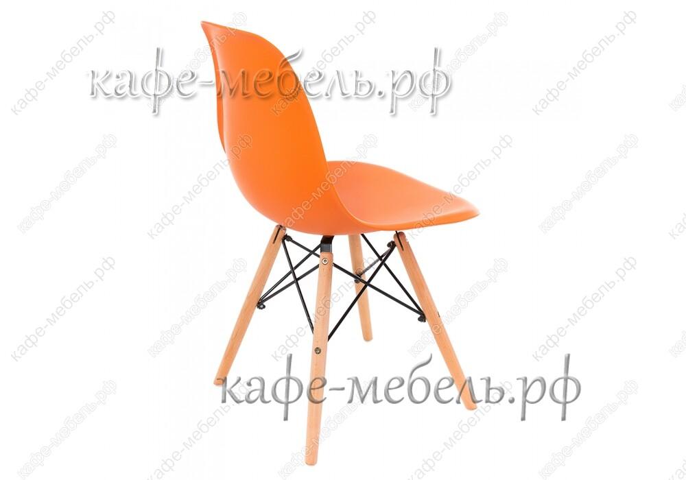 стул эймс 015 оранжевый+бук