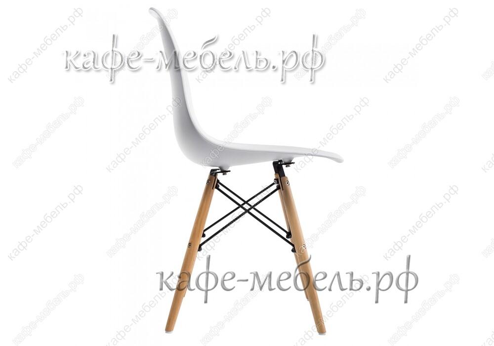 стул эймс 015 белый+бук