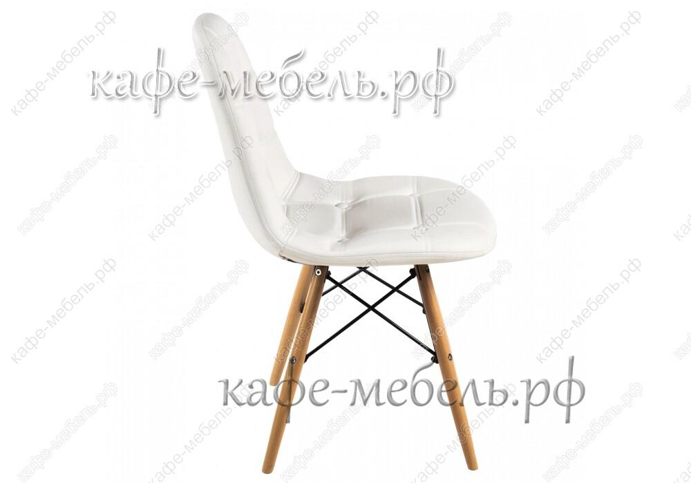 стул эймс-016 белый+бук