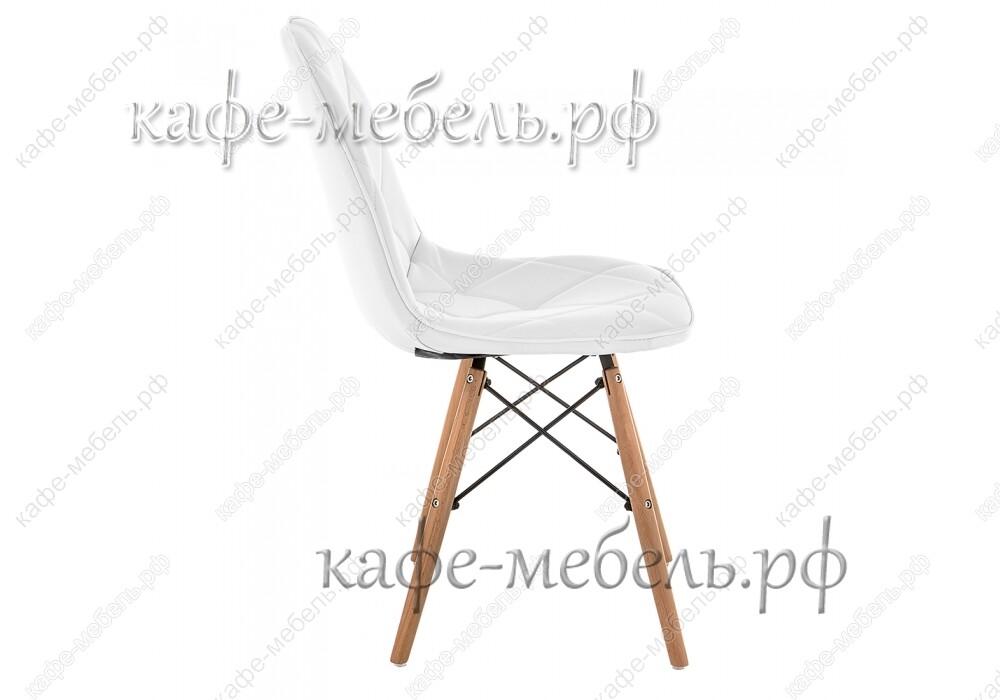 стул эймс-147 белый+бук