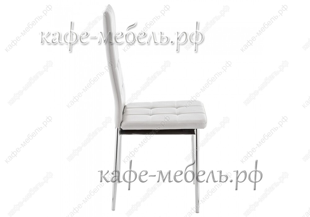 стул форин серый+хром