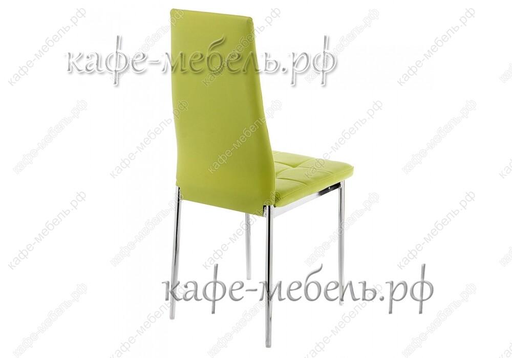 стул форин зелёный+хром