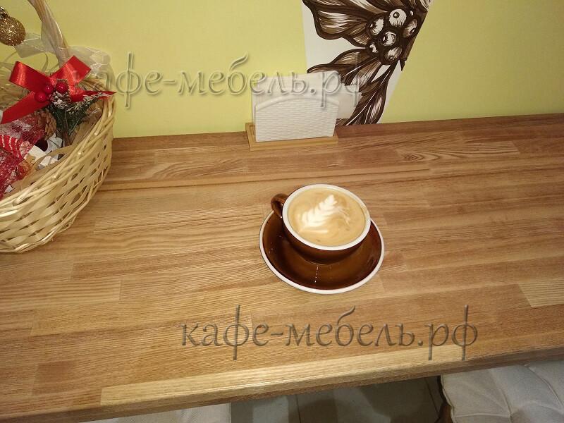 гостевая столешница островка кофе