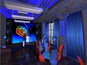 мебель в тематической кофейне