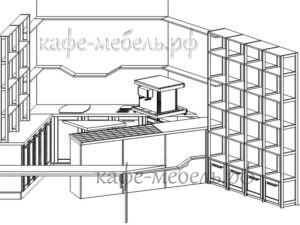 проект стойки для кофейни бравос