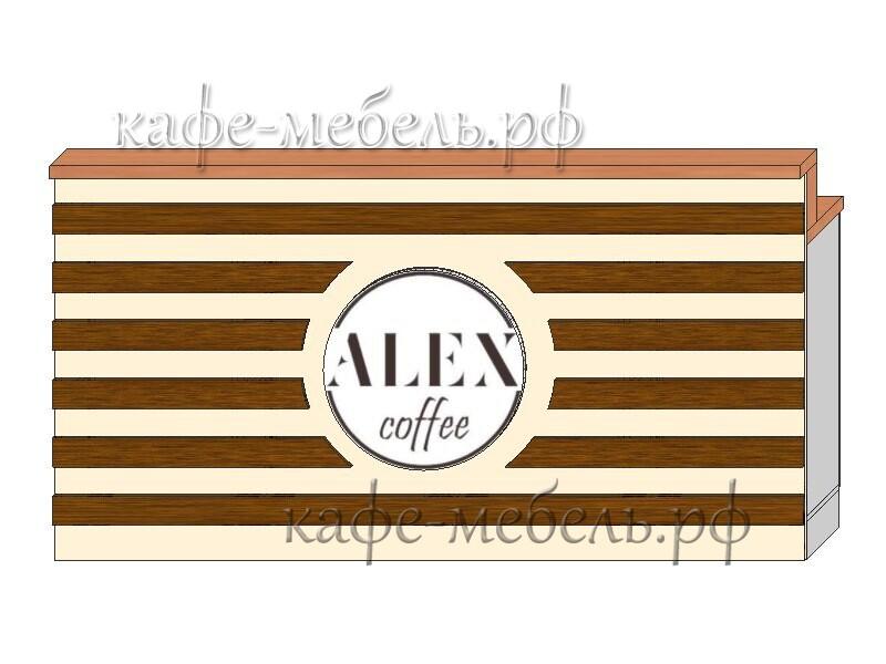 Стойка для кафе Алекс изготовление на заказ