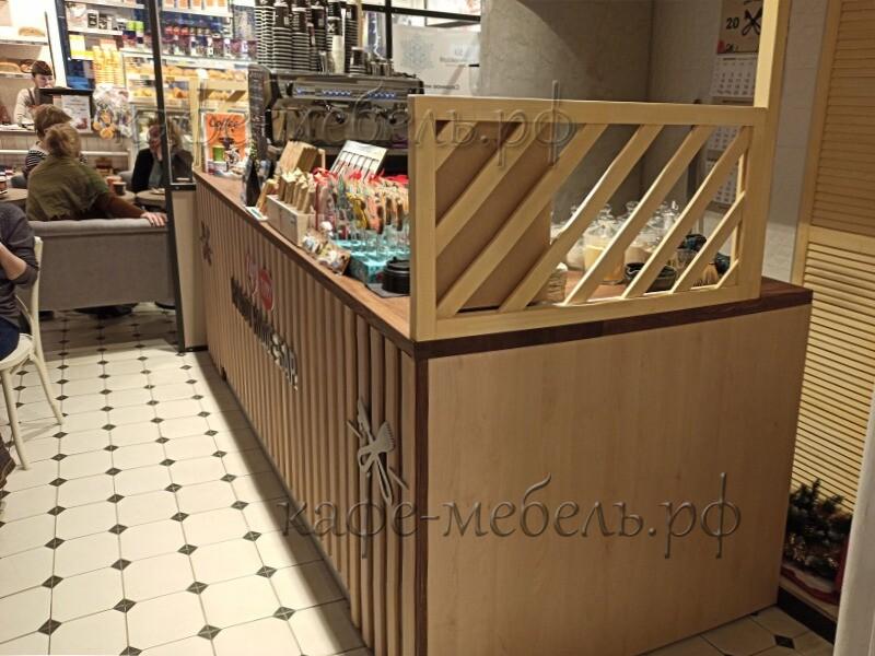 деревянная кафе стойка м. Маяковская